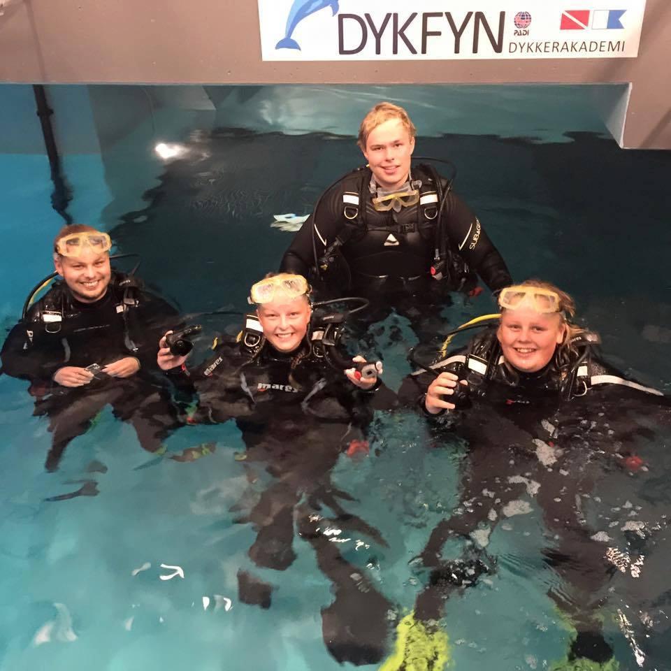 DykFyn dykkercertifikat Nyborg på Fyn