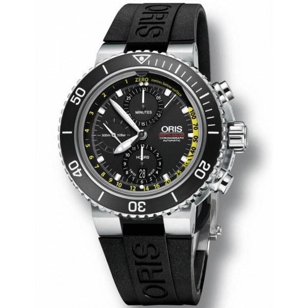 Oris Depth Gauge Automatik Chronograph - Dykkerur