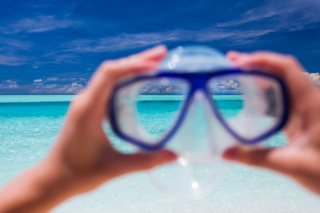 dykkerbriller med styrke 1