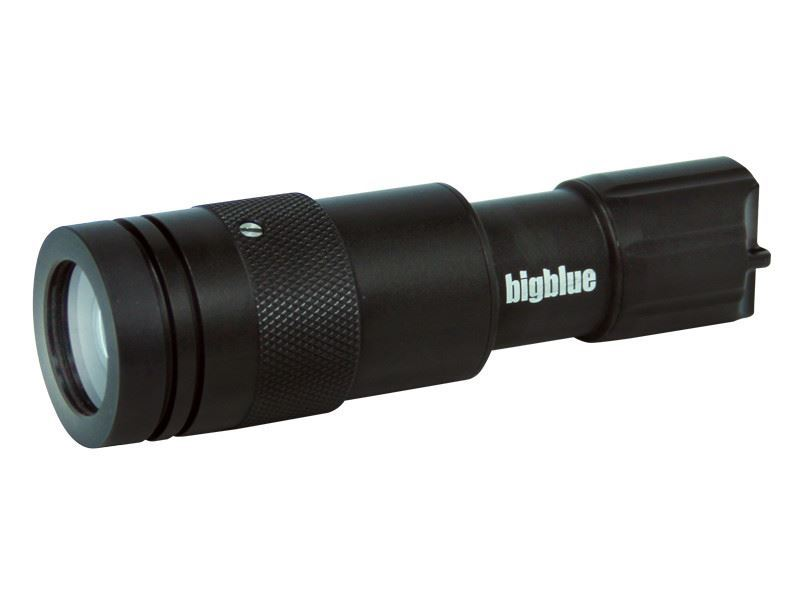 bigblue cf450 backup dykkerlygte