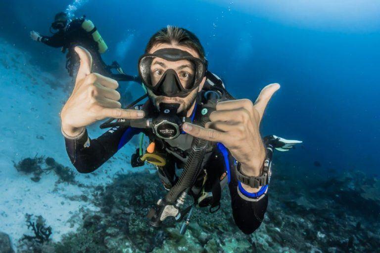 dykkermaske boern